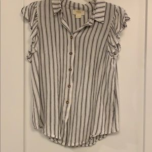 Anthropologie - Striped Shirt - Size Small